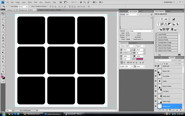 how to make a template in photoshop How to create a storyboard tutorial in Adobe Photoshop