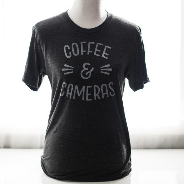 Coffee & Cameras t-shirt