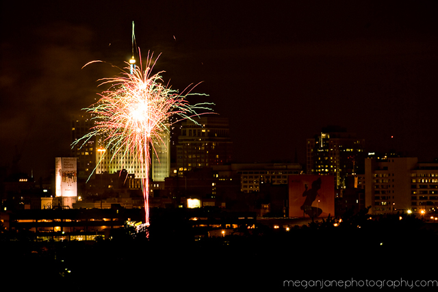 Learn how to take pictures of fireworks tutorial