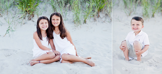 children beach photography by Courtney Keim