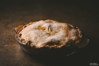 homemade apple pie by April Nienhuis