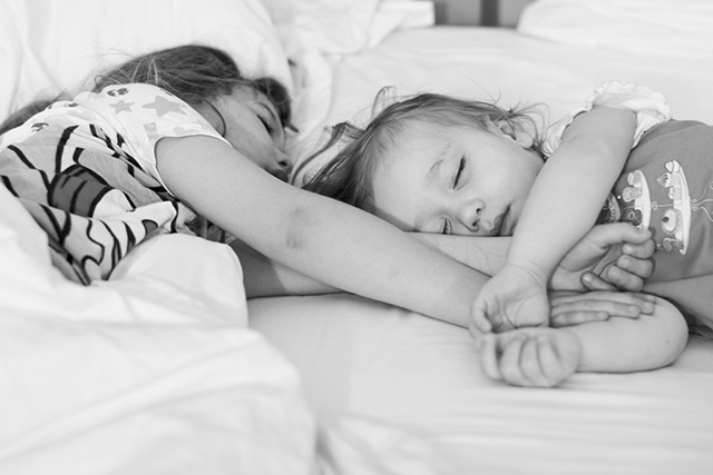 advice on photographing sleeping kids