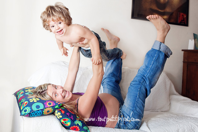 mom and child photography