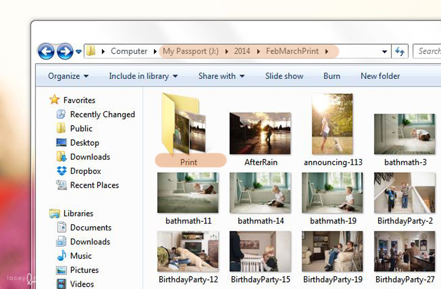 computer organization for photos by Lacey Meyers 5