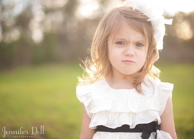 photographing uncooperative children