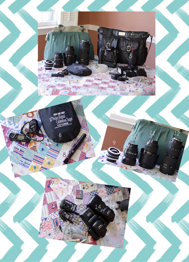 what's in the camera bag of Nikon photographer Sarah Phillips
