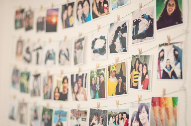 creative ways to display small photos