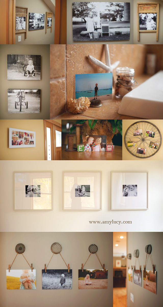 how to display your photos