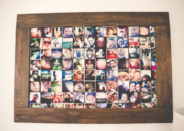 unique ways to display small photos