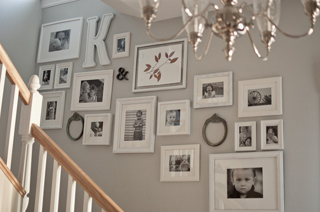 photo display ideas staircase photo galleries