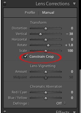 how to show grid lines when cropping in lightroom