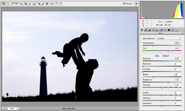 how to photograph and process silhouettes photo