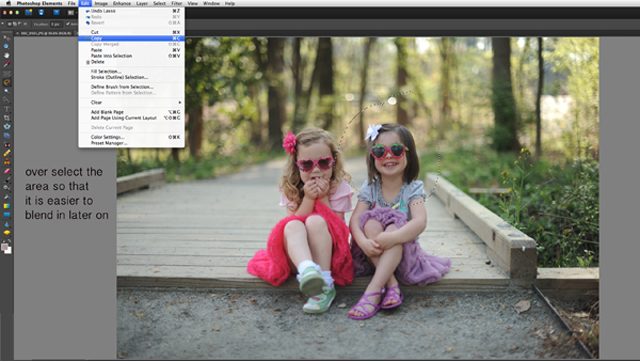 create a head swap in photoshop