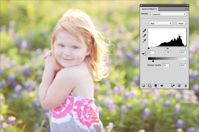how to post process photos tutorial by Sara Seeton