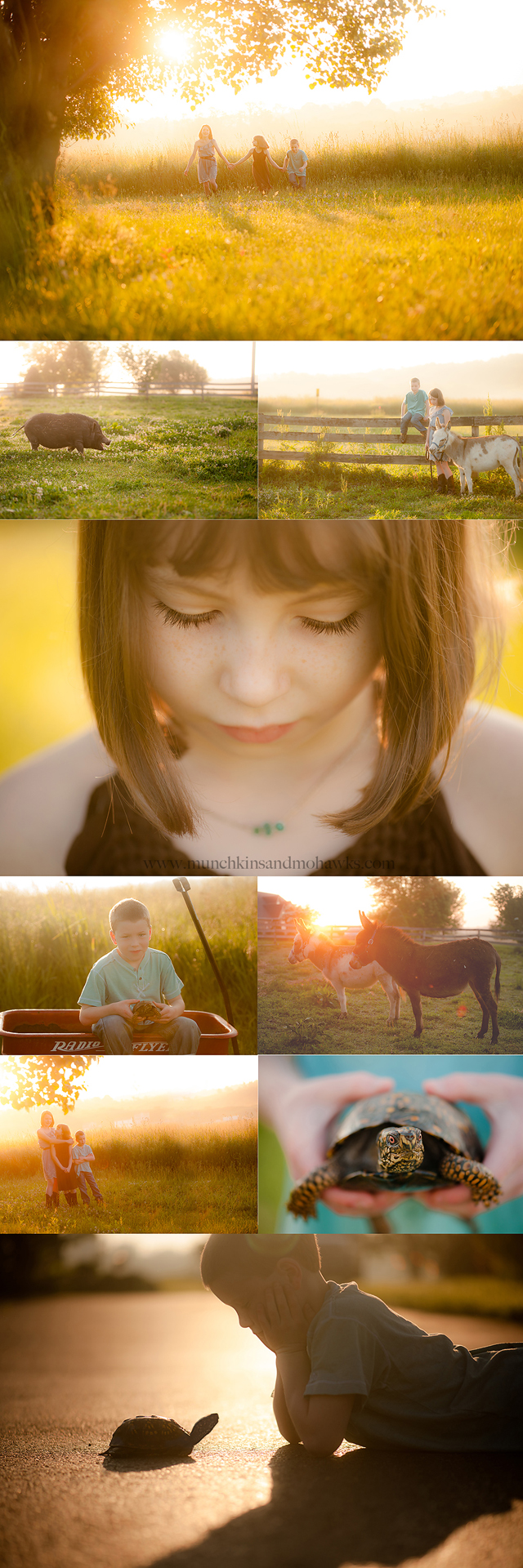 family stylized photography by Tiffany Bender of Munckins and Mohawks