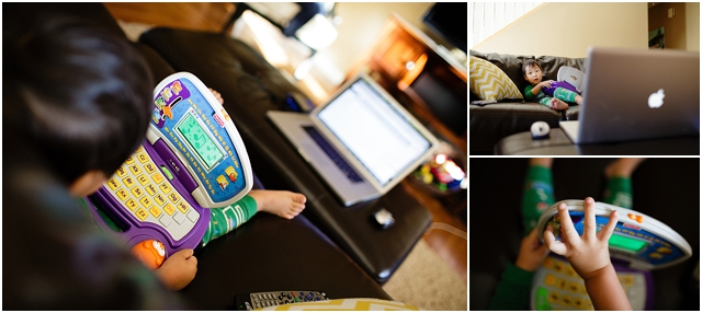 toddlers at work photography by Kellie Penn