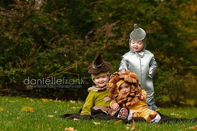 Wizard of Oz Halloween Costumes and dress up by Danielle danse