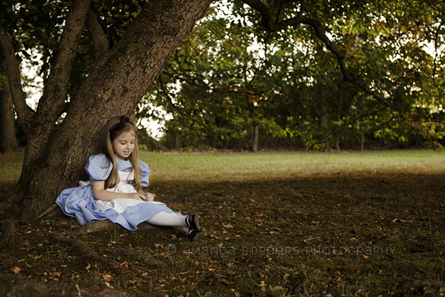 Alice in Wonderland Halloween Costume and dress up by Amanda Borders amandab
