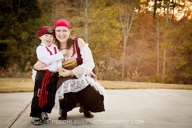 Pirate Halloween Costume and dress up by Andrea Thomas andreathomasnc