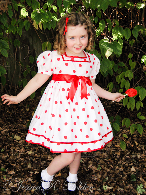 Lollipop girl Halloween Costume and dress up by Jessica Holden mama2em