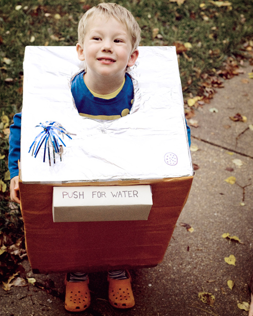 water fountain Halloween Costume and dress up by Meredith mereditz