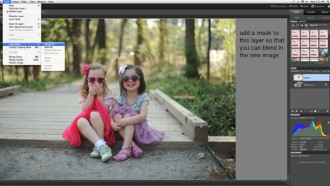 How to perform a head swap in Photoshop Elements by Melissa Gibson