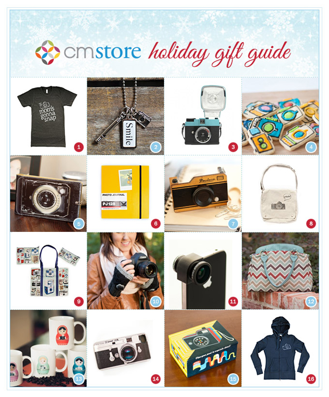 holiday gifts for photographers from Clickin Moms