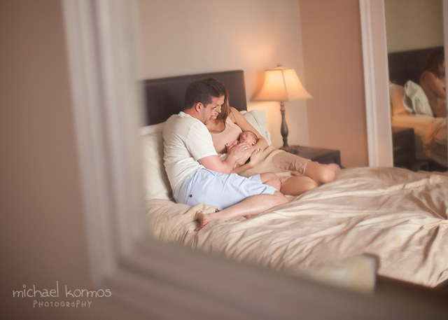 lifestyle newborn photogrpahy tutorial by Michael Kormos