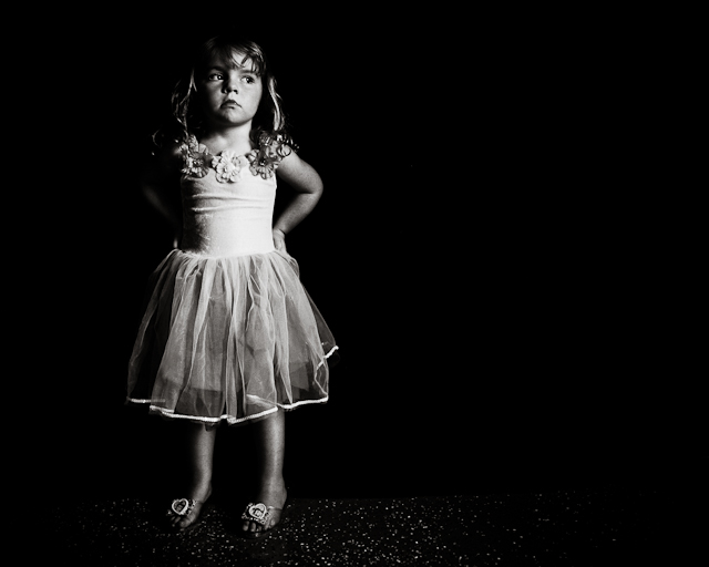using garage lighting for dramatic photography by Kate T Parker