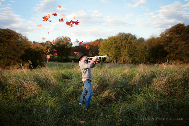 fall photography inspiration by Anne Scherrer