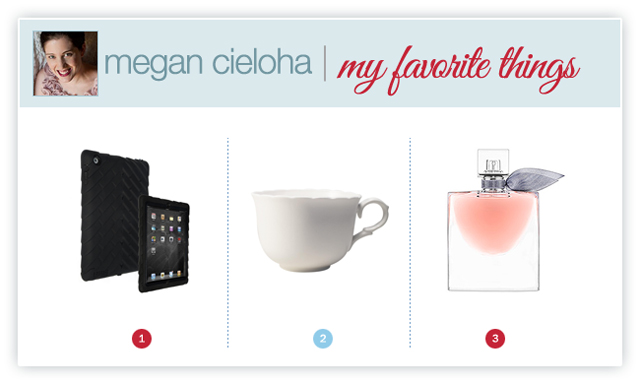 photographer Megan Cieloha's favorite things