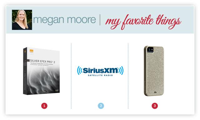 photographer Megan Moore's favorite things