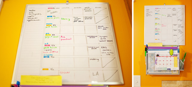 how to keep your weeks organized