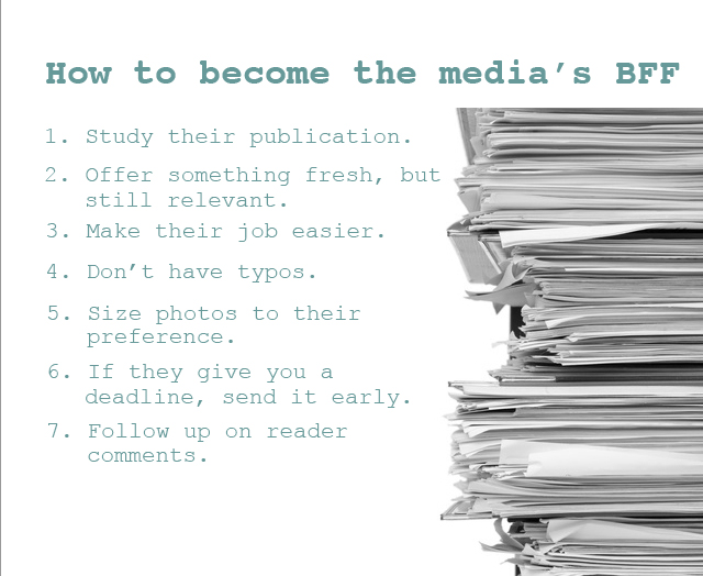 how to get yourself published in the media