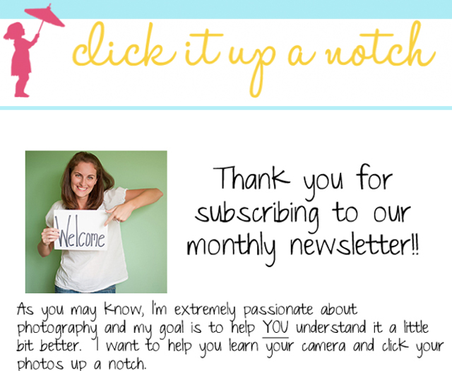 why your photography business should have a newsletter by Courtney Slazinik of Click It Up A Notch