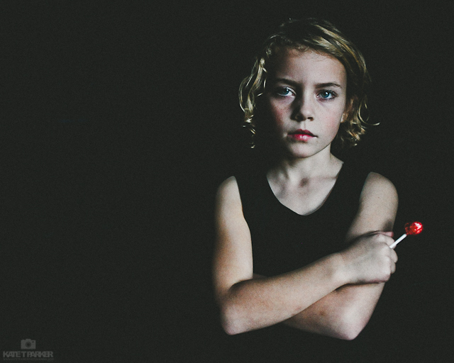 dramatic light child photograph by Kate T Parker