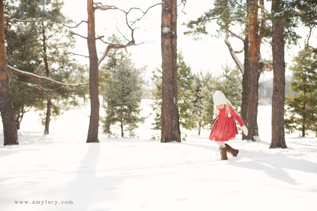 including surroundings in snow photographs by Amy Lucy Lockheart