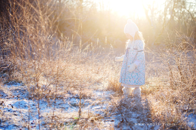 light with snow portraits by Amy Lucy Lockheart