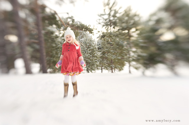photography in the snow with a lensbaby by Amy Lucy Lockheart