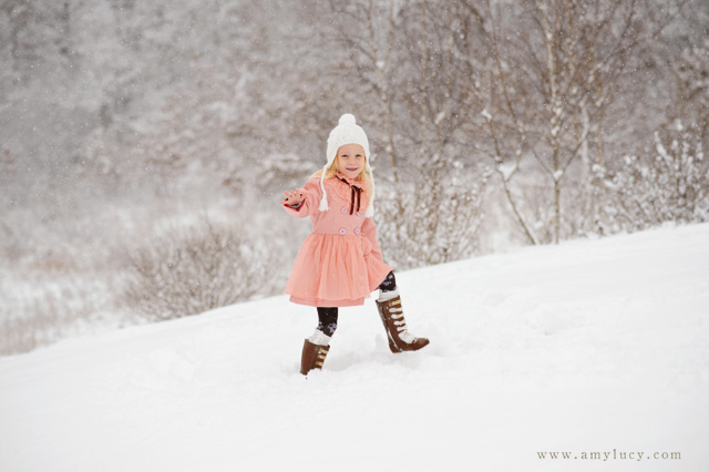 shooting creatively in the snow by Amy Lucy Lockheart