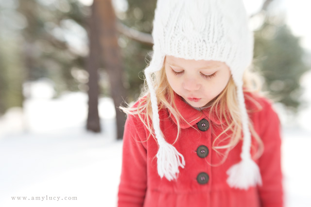 snow photography with a lensbaby by Amy Lucy Lockheart