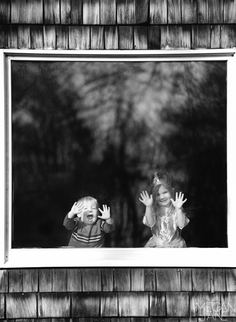black and white lifestyle child photography by Megan Moore