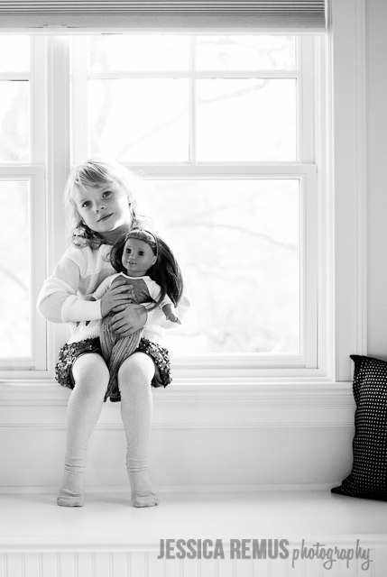 Jessica Remus black and white child portrait photography