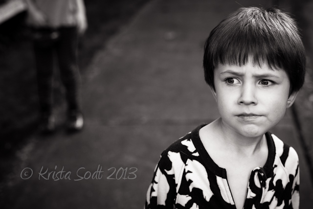 Krista Sodt black and white child portraiture