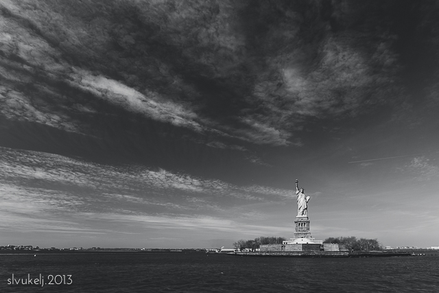 Stacey Leece Vukelj New York City statue of liberty photograph