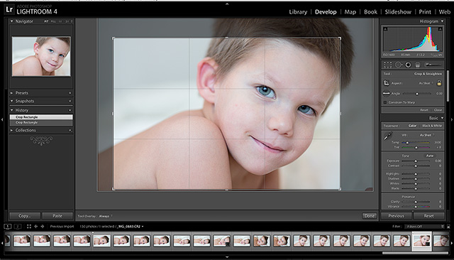 a before and after post processing tutorial by photographer Rachel Nielsen