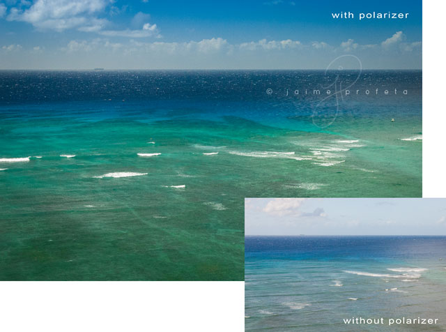 using an ocean polarizer by Jaime Profeta