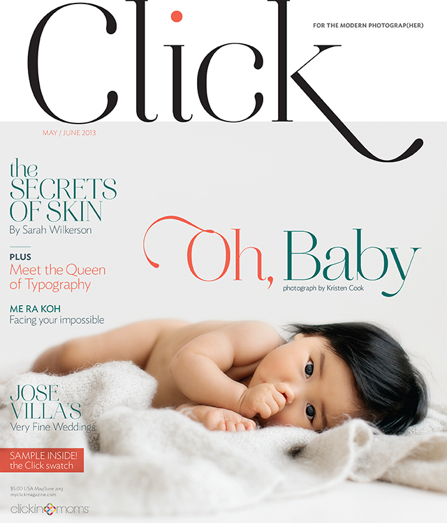 May June cover of Click magazine for the modern photographer