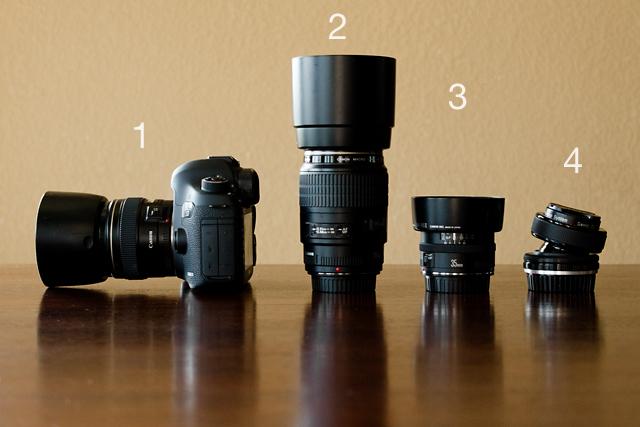 Canon camera gear of photographer Celeste Pavlik