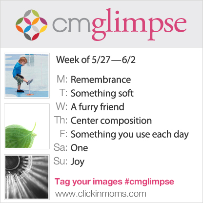 CMglimpse instagram project prompts from Clickin Moms 5.27.13-6.2.13